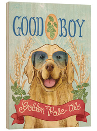Stampa su legno  Beer Dogs II - Mary Urban