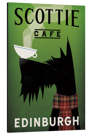 Stampa su alluminio  Scottie Cafe - Ryan Fowler
