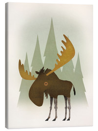 Tela  Forest Moose - Ryan Fowler