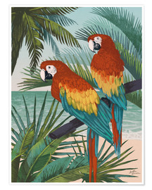 Poster Premium  Welcome to Paradise X - Janelle Penner