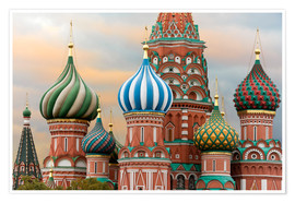 Miles Ertman - St. Basil's Cathedral, UNESCO World Heritage Site, Moscow, Russia, Europe