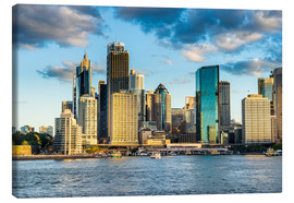 Michael Runkel - The skyline of Sydney at sunset, New South Wales, Australia, Pacific