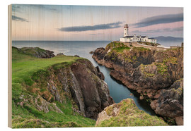 Stampa su legno  Fanad Head Lighthouse in Irlanda - Francesco Vaninetti