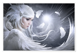 Elena Dudina - White feathers