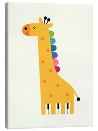 Tela  Giraffe Piano - Andy Westface
