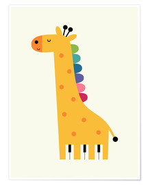 Andy Westface - Giraffe Piano