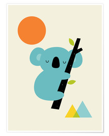 Poster  Little Dreamer - Andy Westface