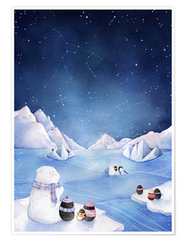Poster Premium  Stelle dell'Antartico - Rebecca Richards