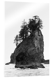 Vetro acrilico  Rocks at Second Beach in Olympic National Park, USA - Peter Wey