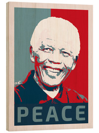 Legno  Nelson Mandela Peace and Hope - Alex Saberi