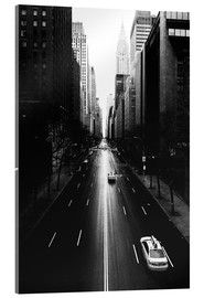 Vetro acrilico  Streets of New York (42nd street - Tudor City) - Sascha Kilmer