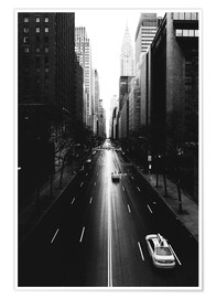 Poster Premium Strade di New York (42nd street - Tudor City)