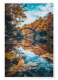 Poster Premium fairytale bridge
