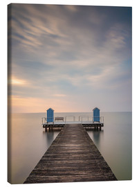 Stampa su tela  Jetty on the Baltic Sea (1) - Heiko Mundel
