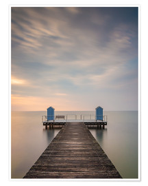Poster Premium  Jetty on the Baltic Sea (1) - Heiko Mundel