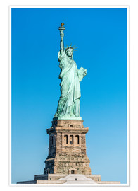 Poster Premium  Statue of Liberty on Liberty Island, New York City, USA - Jan Christopher Becke