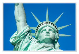 Poster Premium  Statue of Liberty in New York City, USA - Jan Christopher Becke