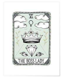 Poster Premium The Boss Lady