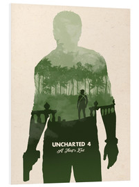 Stampa su schiuma dura  Uncharted 4 - Golden Planet Prints