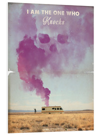 Stampa su PVC  The One Who Knocks, Breaking Bad - 2ToastDesign