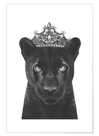 Poster  The Queen panther - Valeriya Korenkova