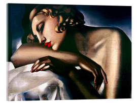 Tamara de Lempicka - The Sleeping Girl