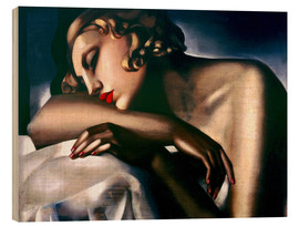 Legno  The Sleeping Girl - Tamara de Lempicka