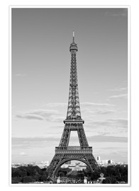 Poster Premium Eiffel Tower PARIS IX